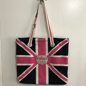 "Pinks Love Rock & Roll 86 Tour Tote Bag 15"" X 14"""